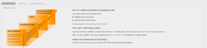 processing rules